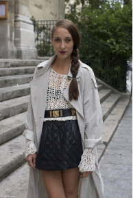 Petra in Paris at www.stylesightings.com.
