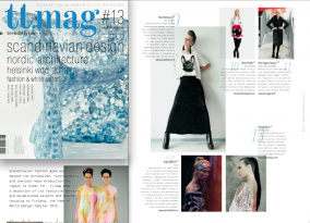 """Scandinavian fashion goes way beyond the minimalism, functionality, and low-cost mass production the region is known for. tl.mag made a selection of its favourite emerging and established talents and brands, focusing on Finland, the home World design capital 2012."" tl.mag#13 Scandinavian Fashion"