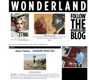 http://www.wonderlandmagazine.com/2012/03/aino-vainio-i-know-why-no/